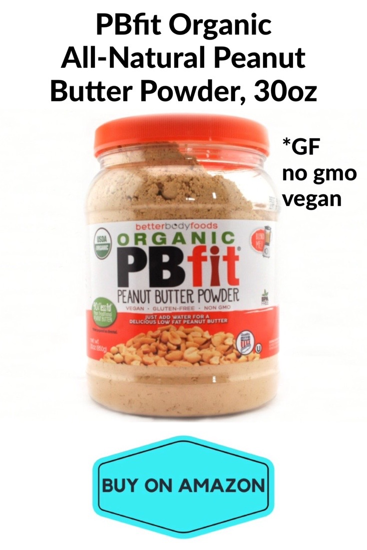 PBfit Organic All-Natural Peanut Butter Powder