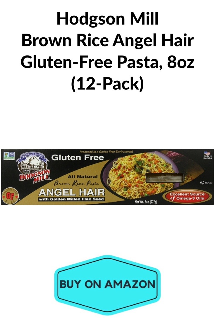 Hodgson Mill Brown Rice Angel Hair Pasta, 12 pack
