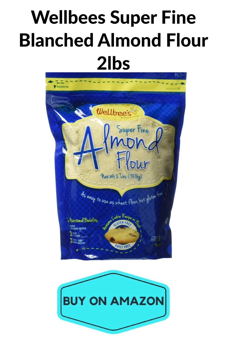 Wellbees Super Fine Blanched Almond Flour, 2 lbs