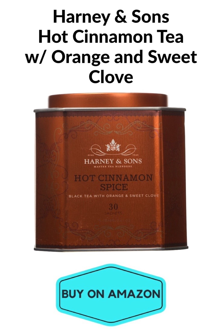 Harney & Sons Hot Cinnamon Tea w/ Orange and Sweet Clove