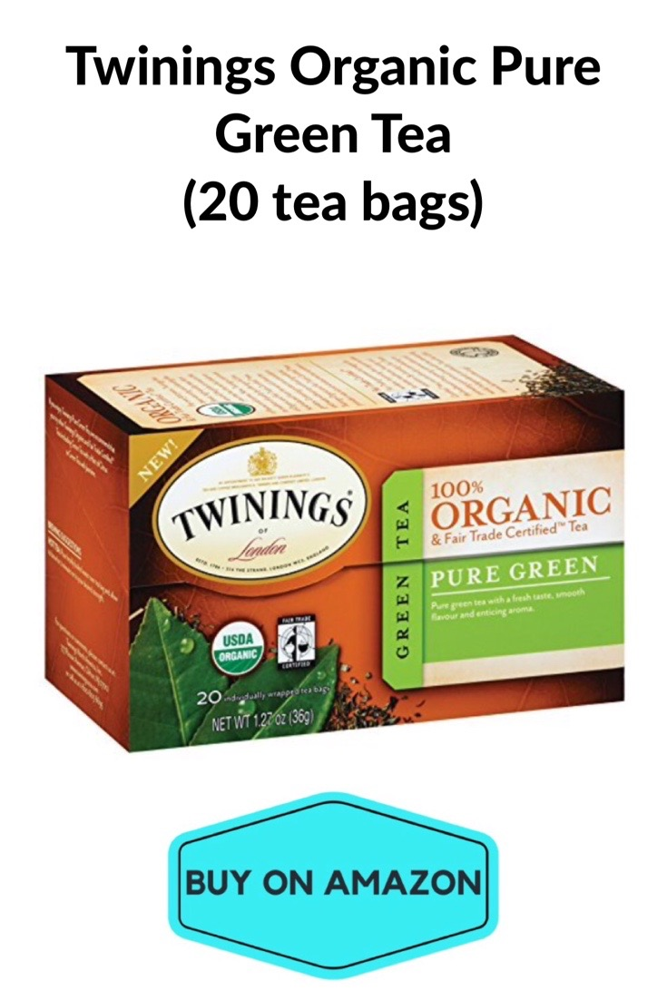 Twinings Organic Pure Green Tea, 20 bags