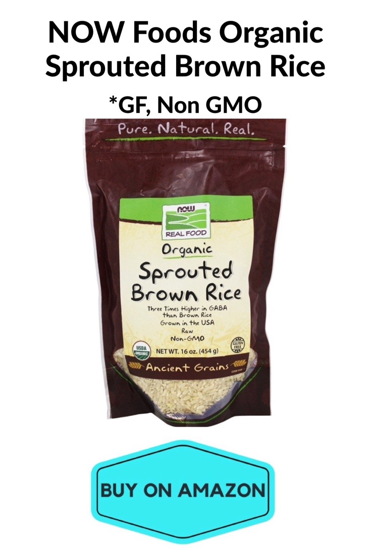 NOW Foods Organic Sprouted Brown Rice