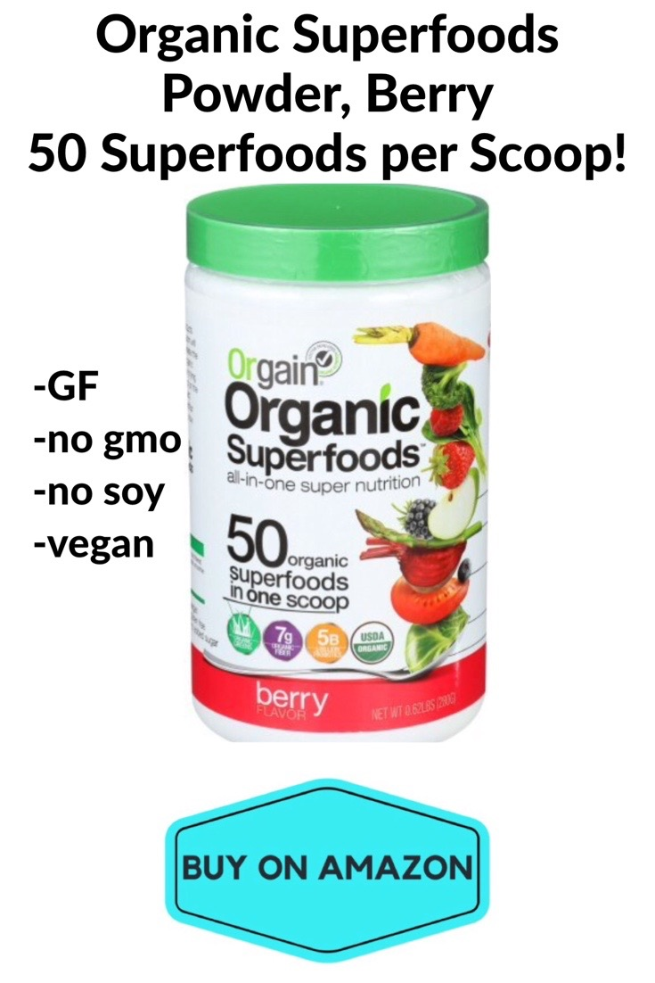 Organic Superfoods Berry Powder