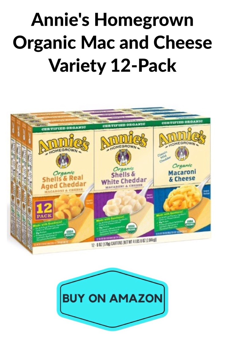 Annie's Homegrown Variety Mac & Cheese, 12 pack