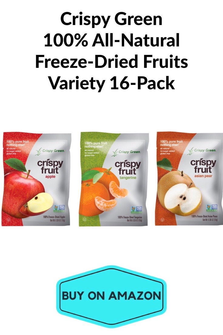 Crispy Green Dried Fruit Variety 16 Count