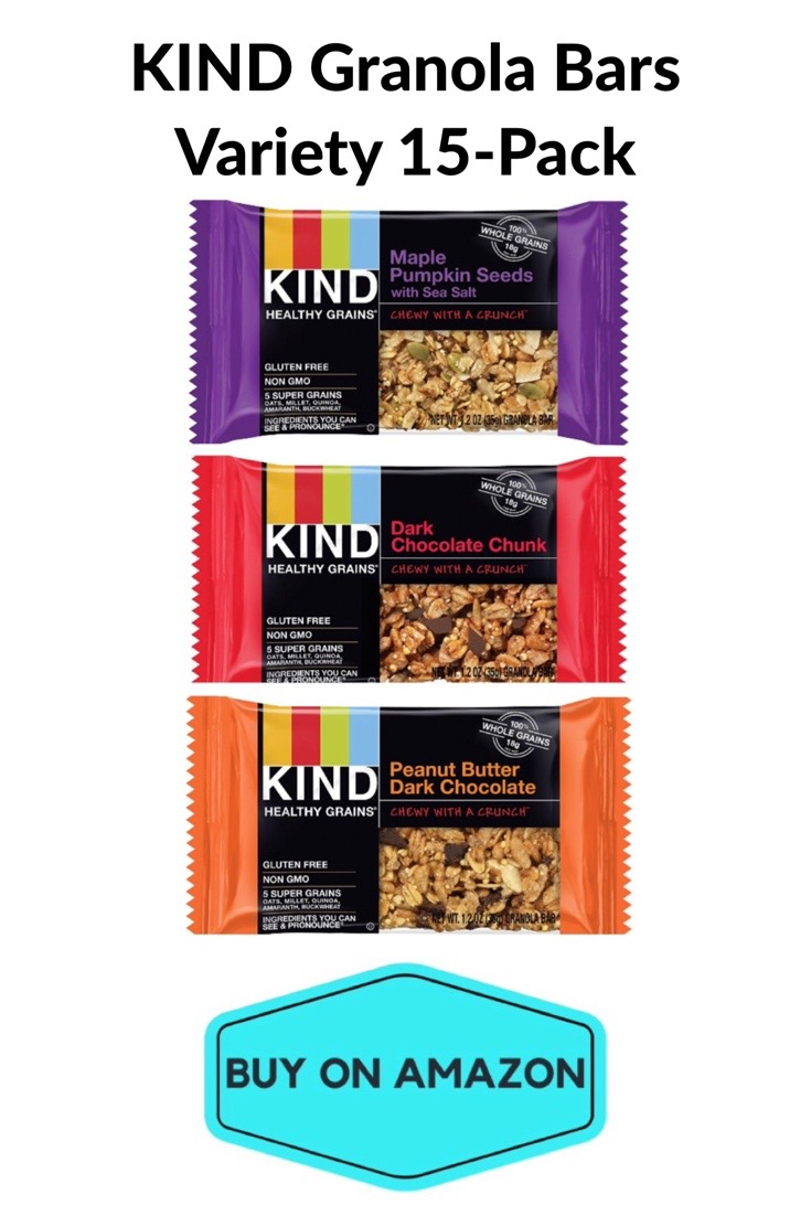 KIND Healthy Grains Granola Bars, Variety 15 Pack