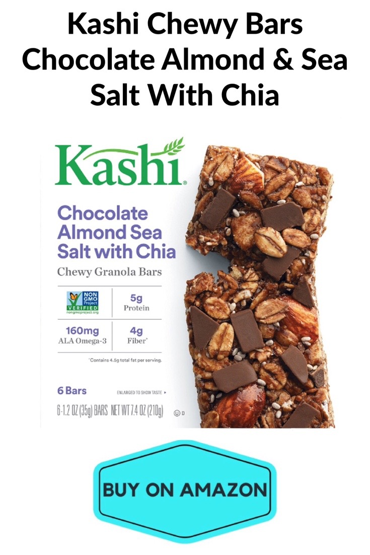 Kashi Chewy Bars, Chocolate Almond & Sea Salt w/ Chia