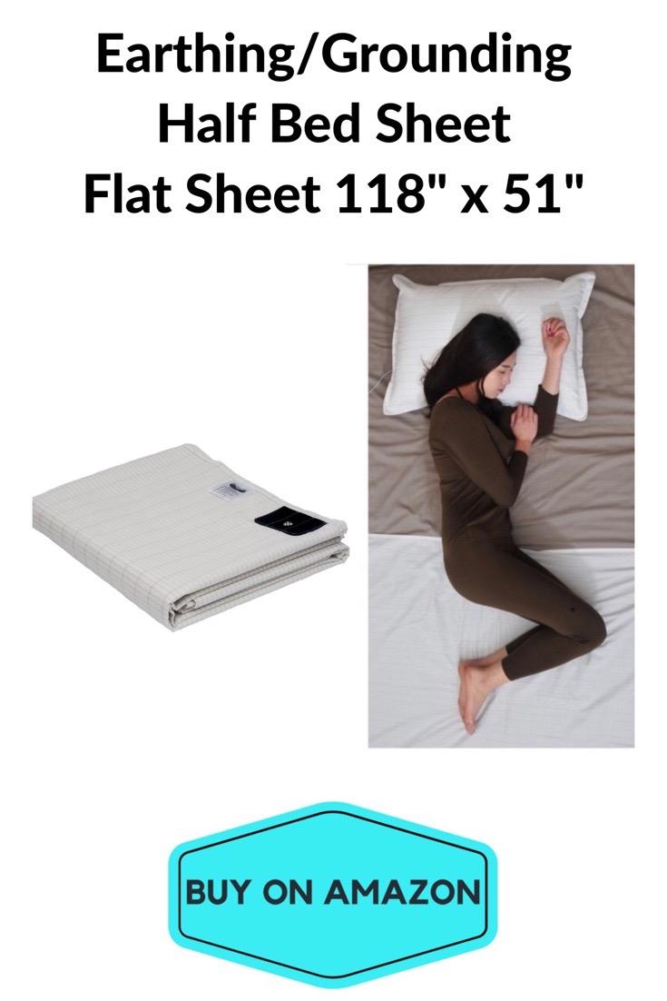 Earthing Half Bed Sheet