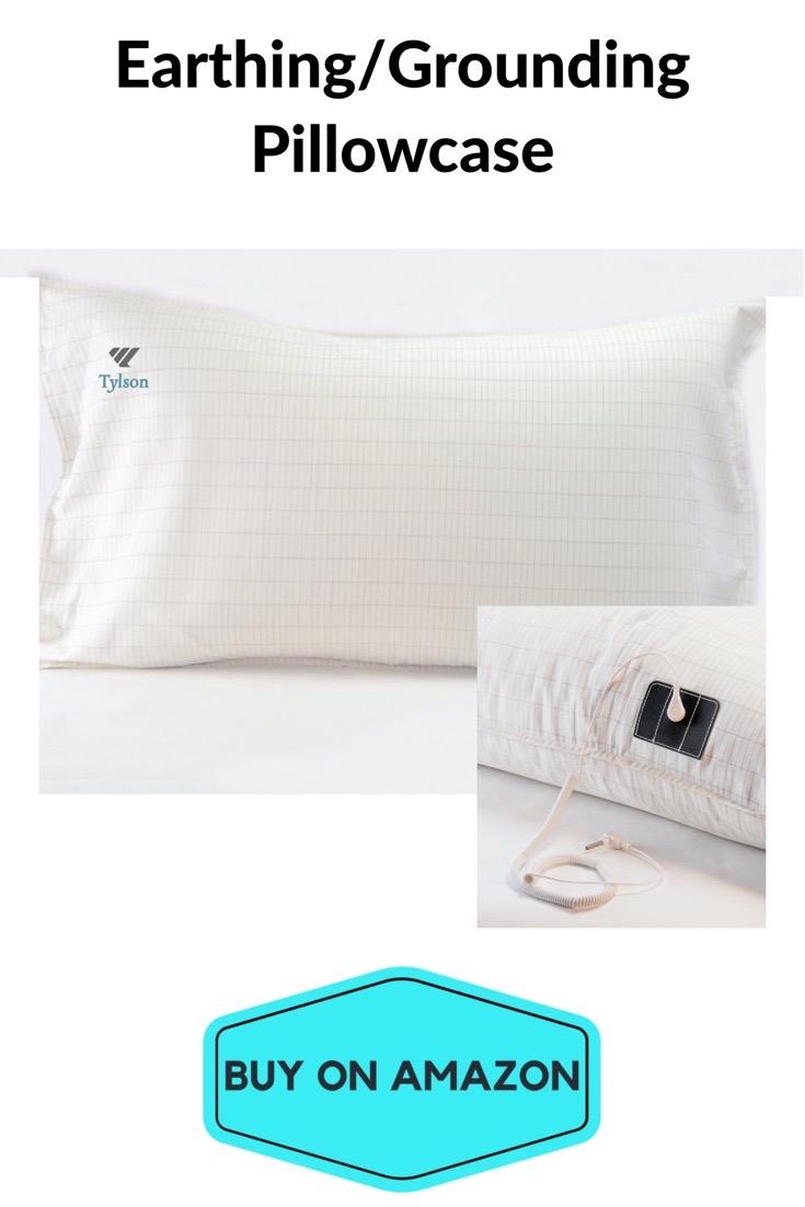 Earthing Pillowcase