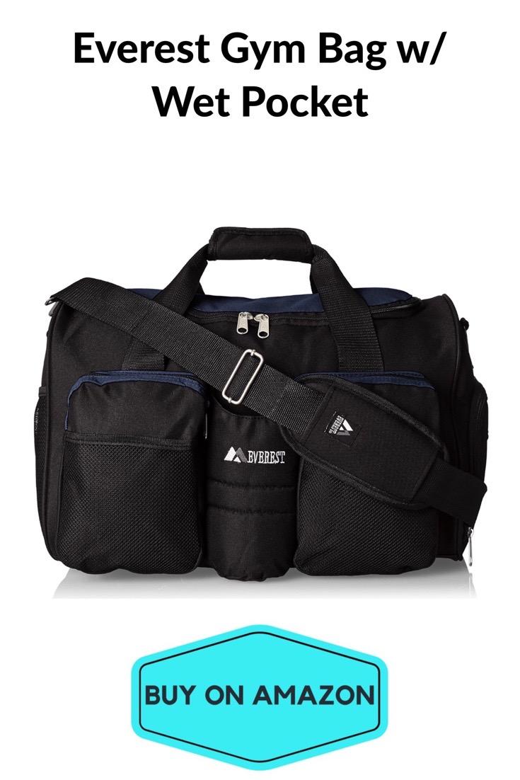 Everest Gym Bag w/ Wet Pocket