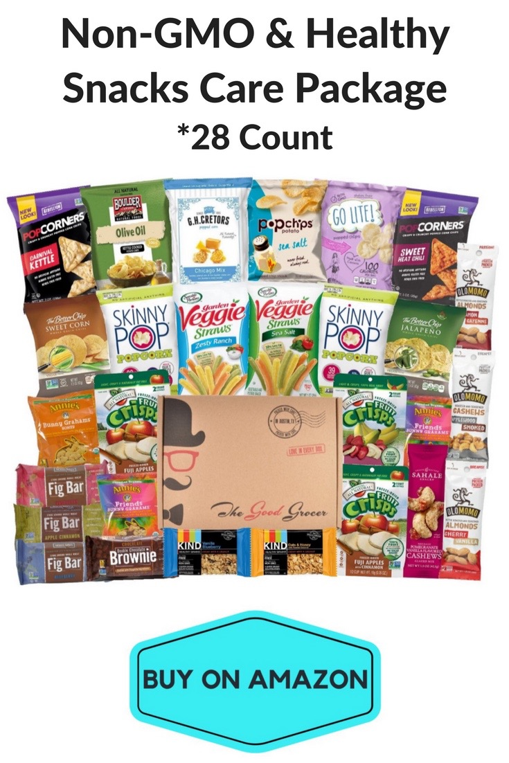 Non-GMO & Healthy Snacks Care Package