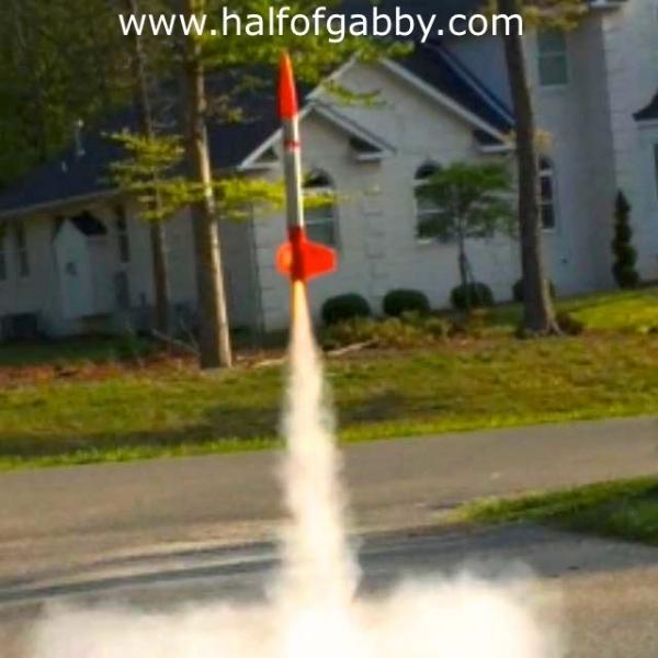 Toy rocket.