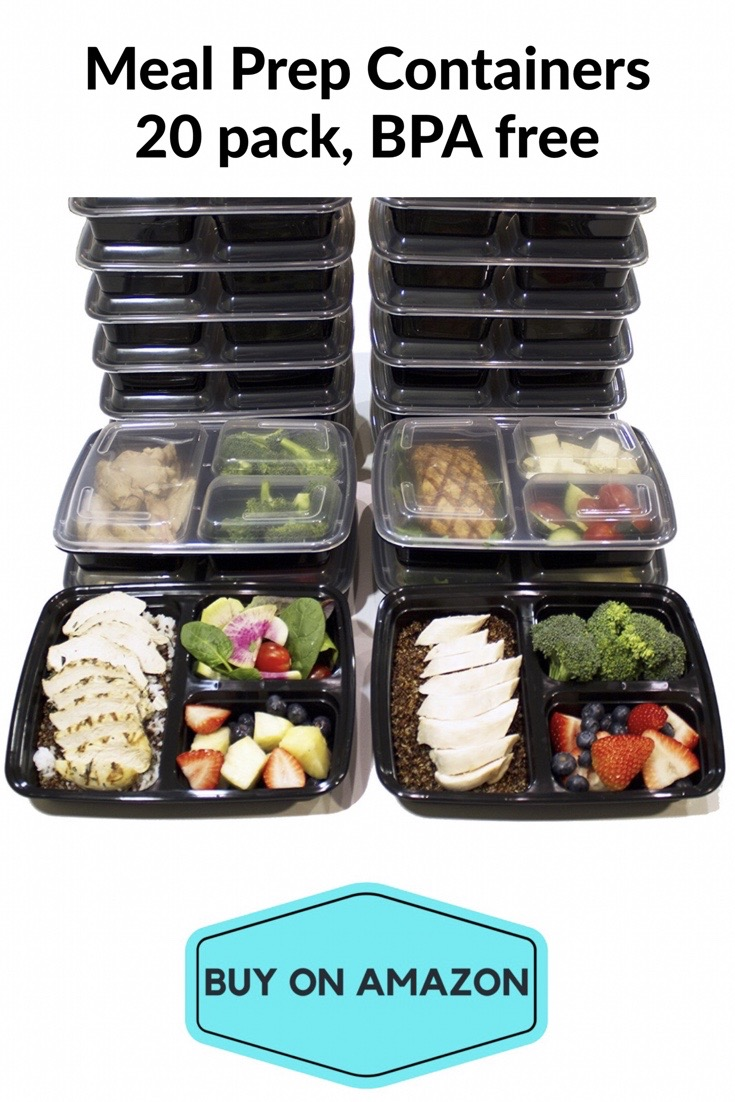 Meal Prep Containers, 20 pack