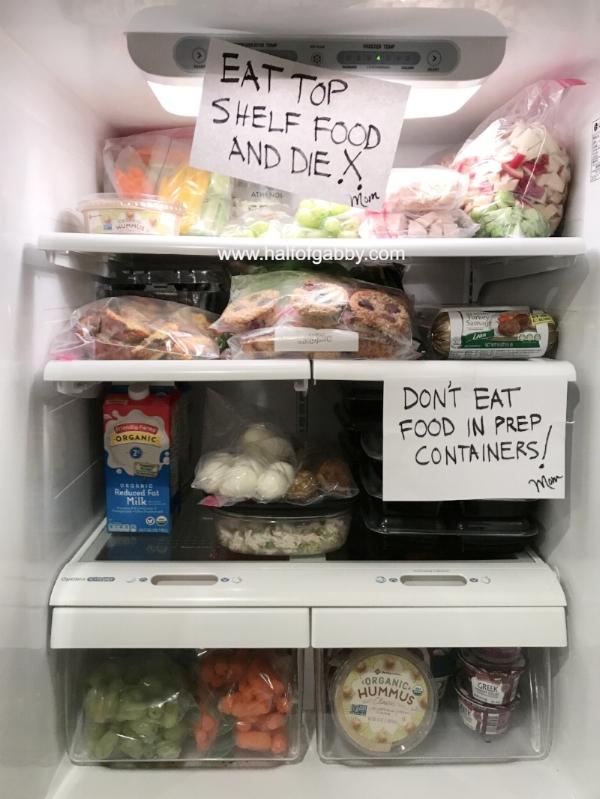 Family warnings!