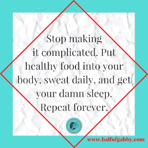 Stop Making It Complicated