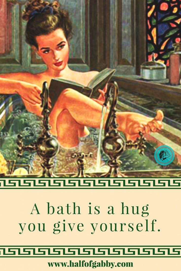 Baths are healing!
