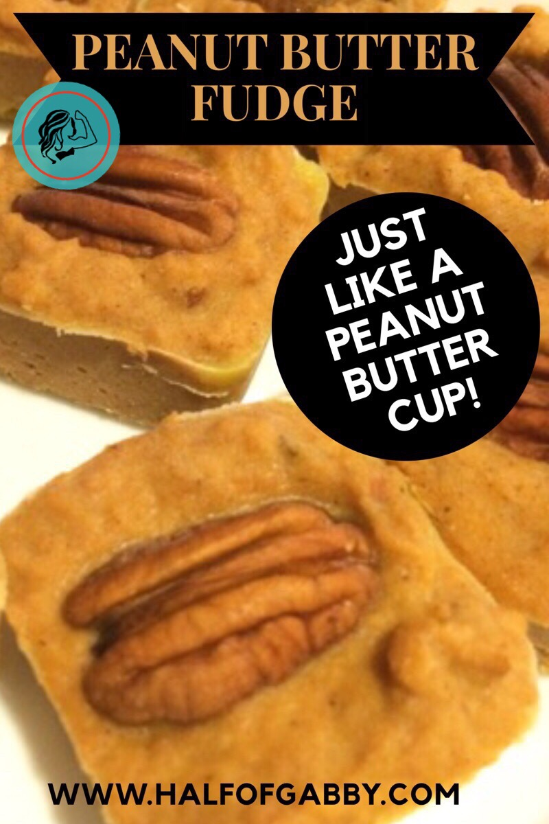 Peanut Butter Fudge: Vegan