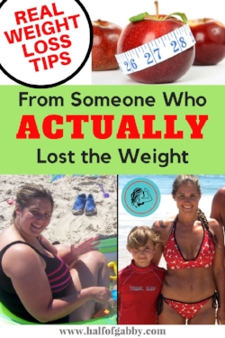 REAL Weight Loss Tips: From Someone Who Actually Lost the Weight!