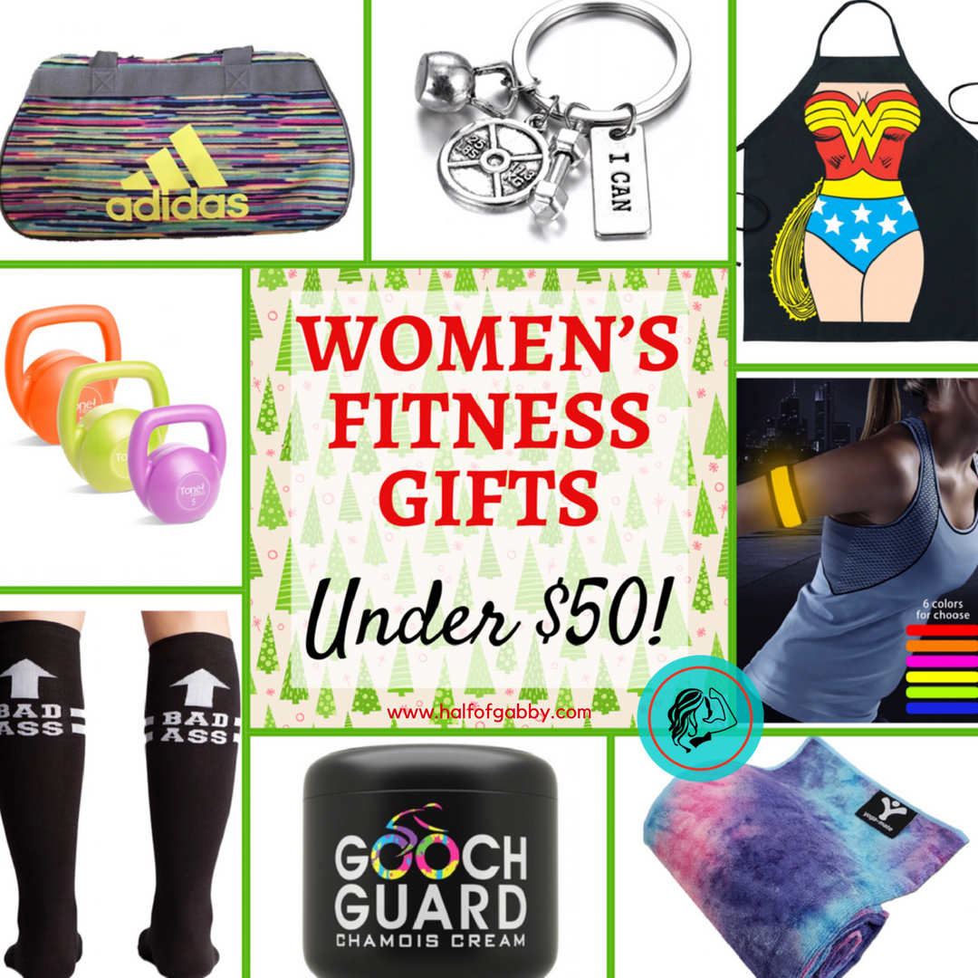 Women's Fitness Gifts Under $50