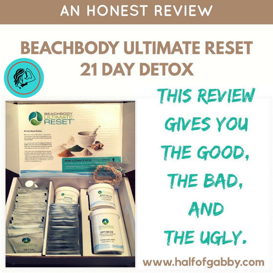An Honest Review of Beachbody's Ultimate Reset 21 Day Detox