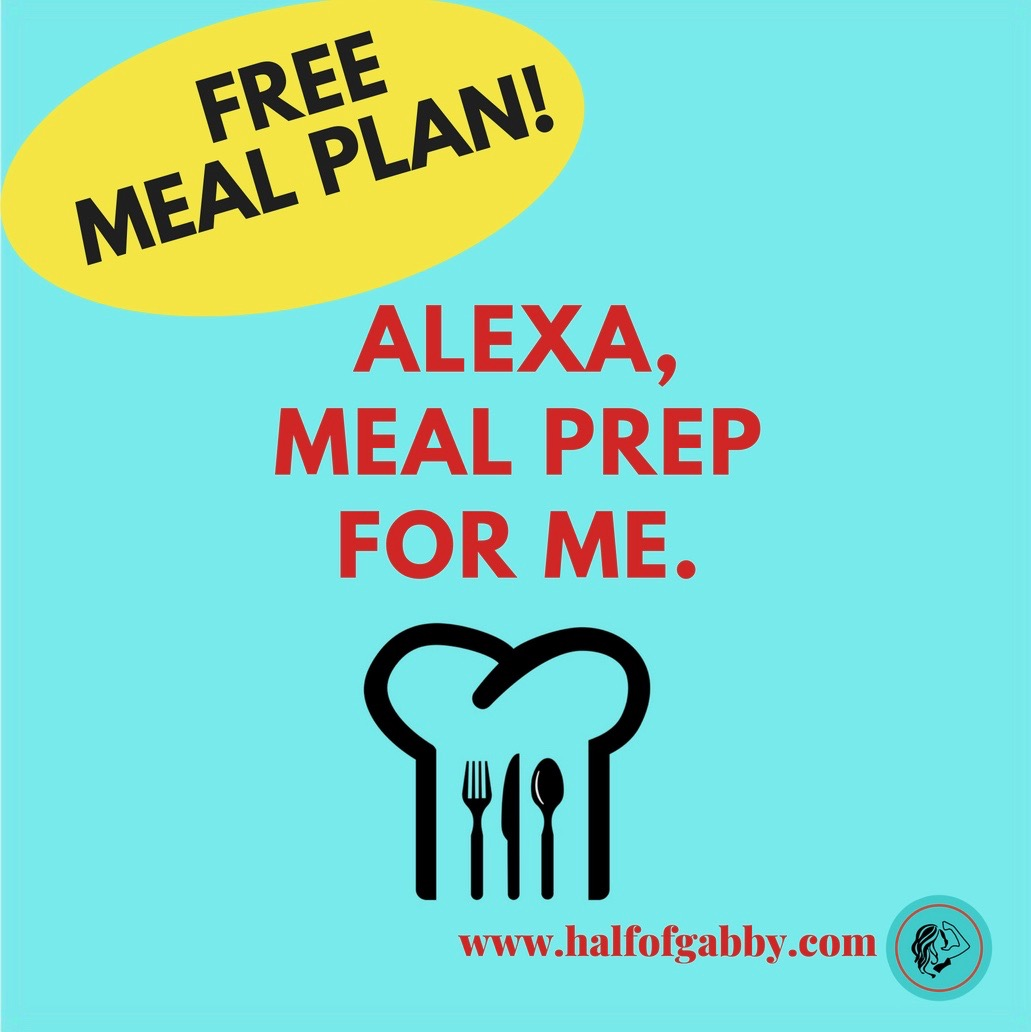 Free Meal Plan & Meal Prepping Guide