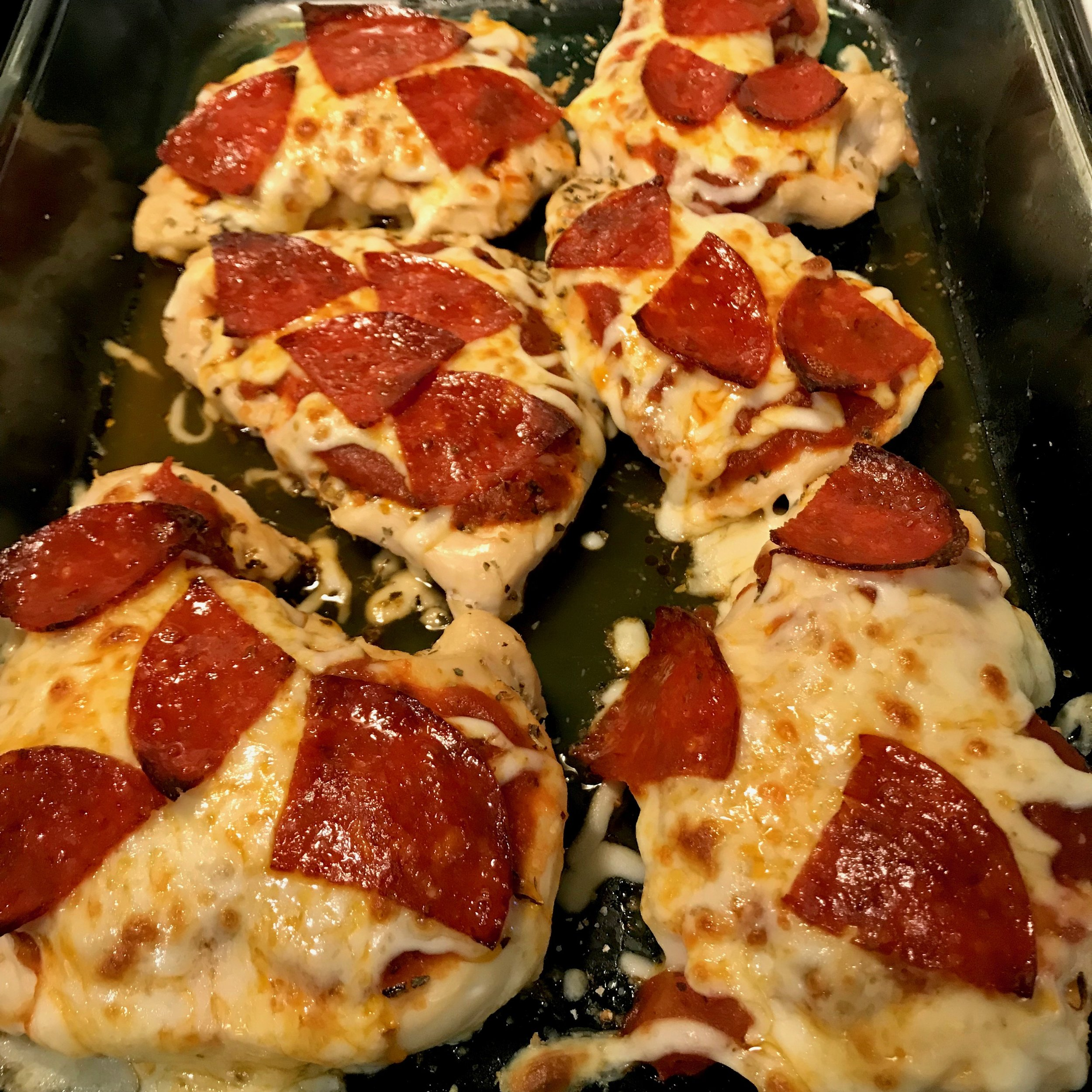 Pizza Chicken: Keto Meal Plan