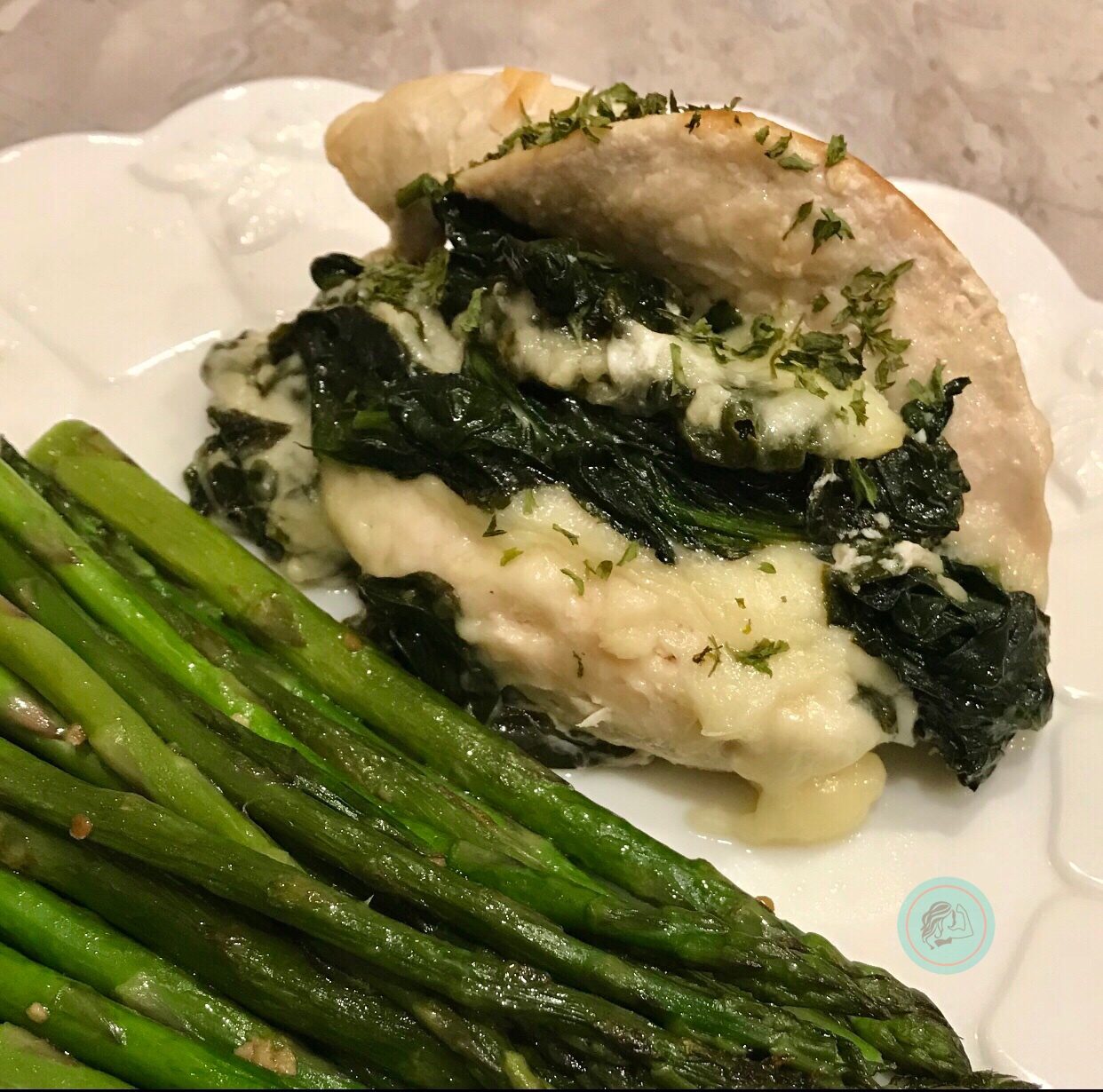 Spinach & Provolone Stuffed Chicken: Keto Meal Plan