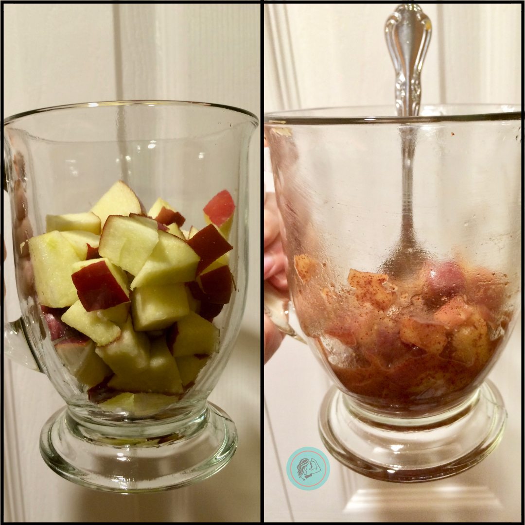 2 Minute Sugar-Free Cinnamon Apples