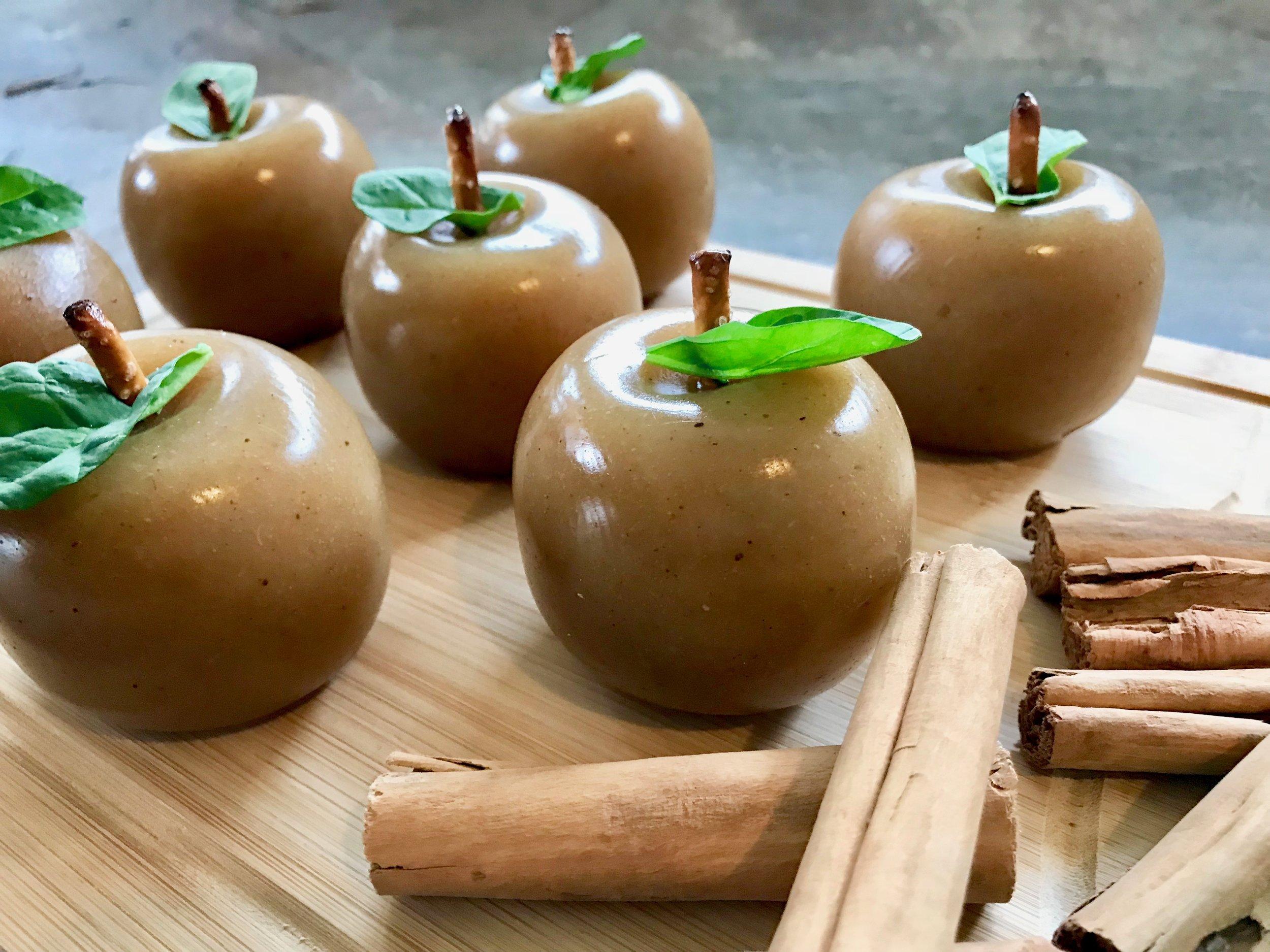 Spiced Apple Protein Gummies