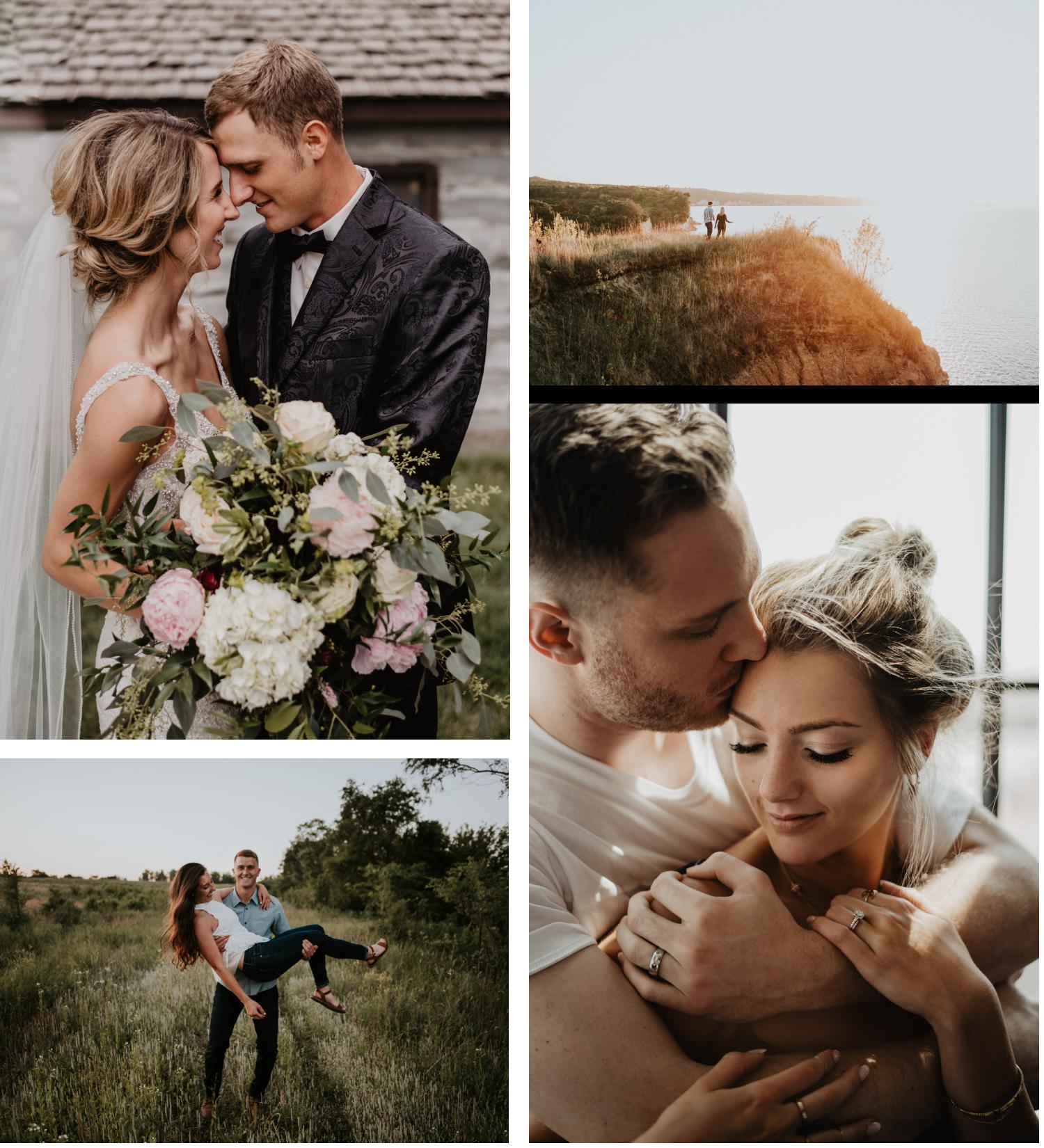 Nebraska Wedding and Engagement Photographer based in Grand Island Kaylie Sirek