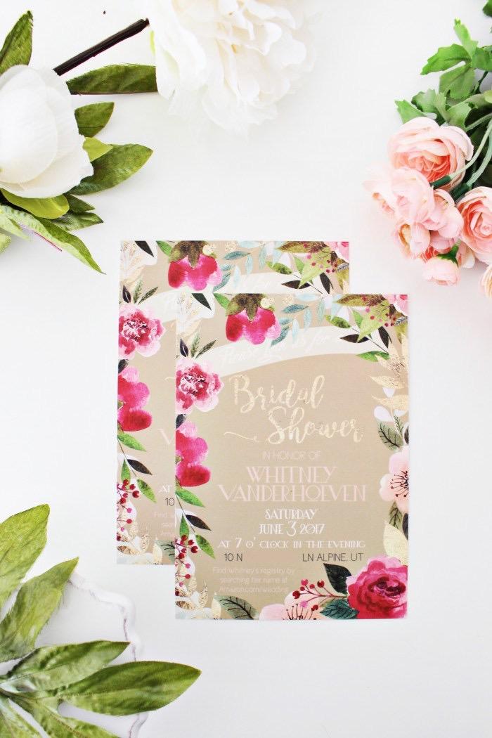 Bridal Shower Invitations by Basic Invite