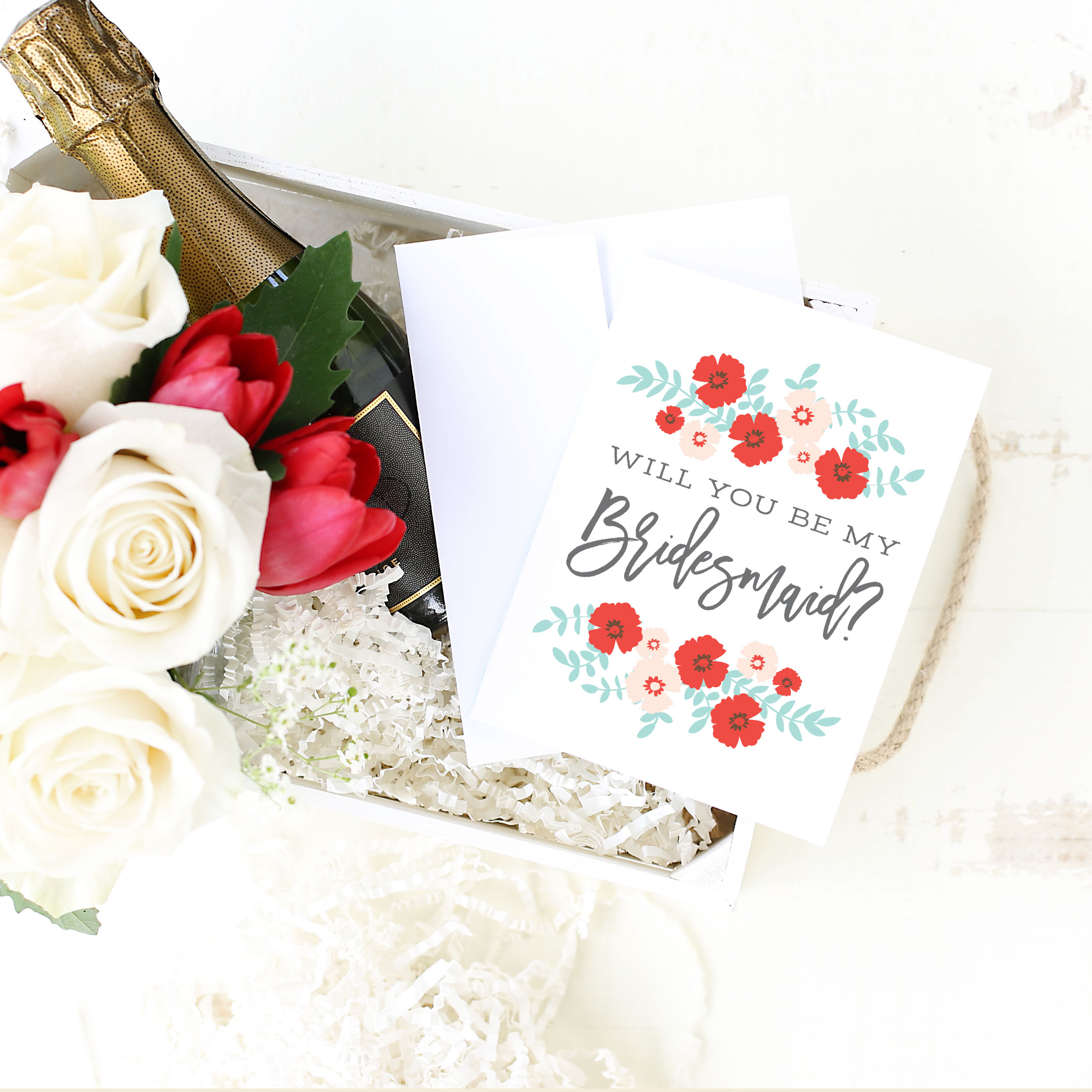 Will You Be My Bridesmaid Card by Basic Invite