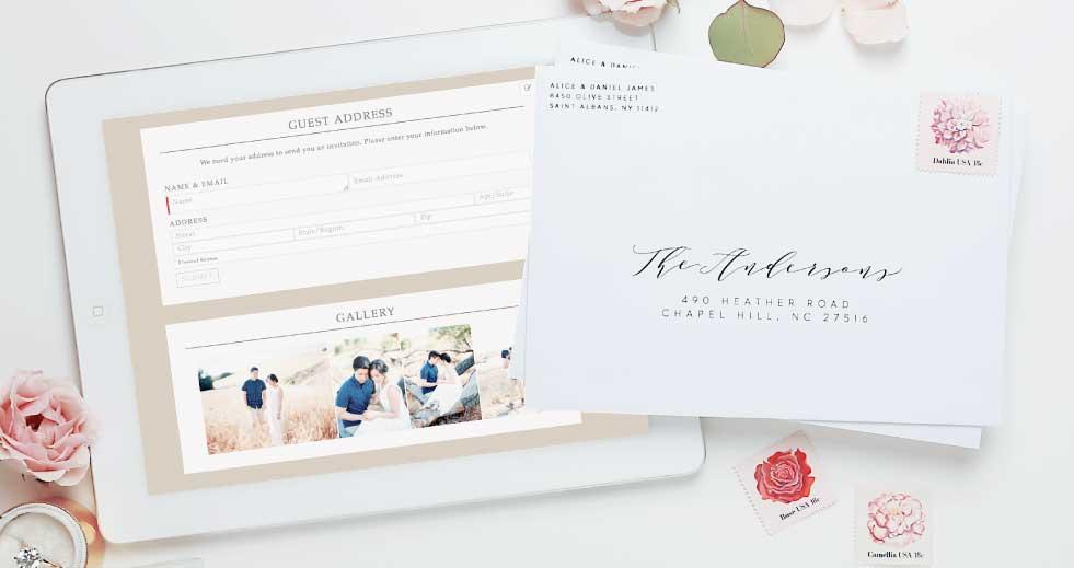 Basic-Invite-Free-Wedding-Website-Address-Collection