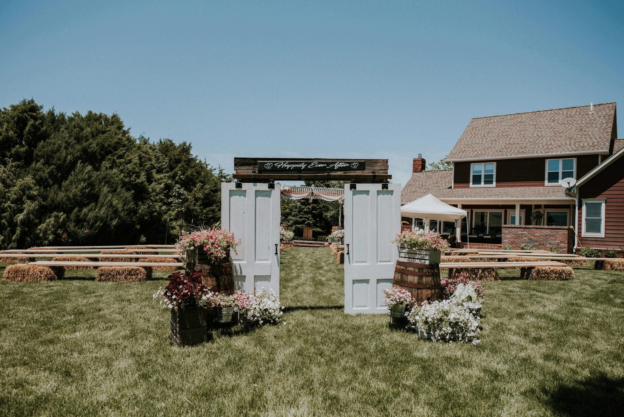 Private Land, Backyard Wedding