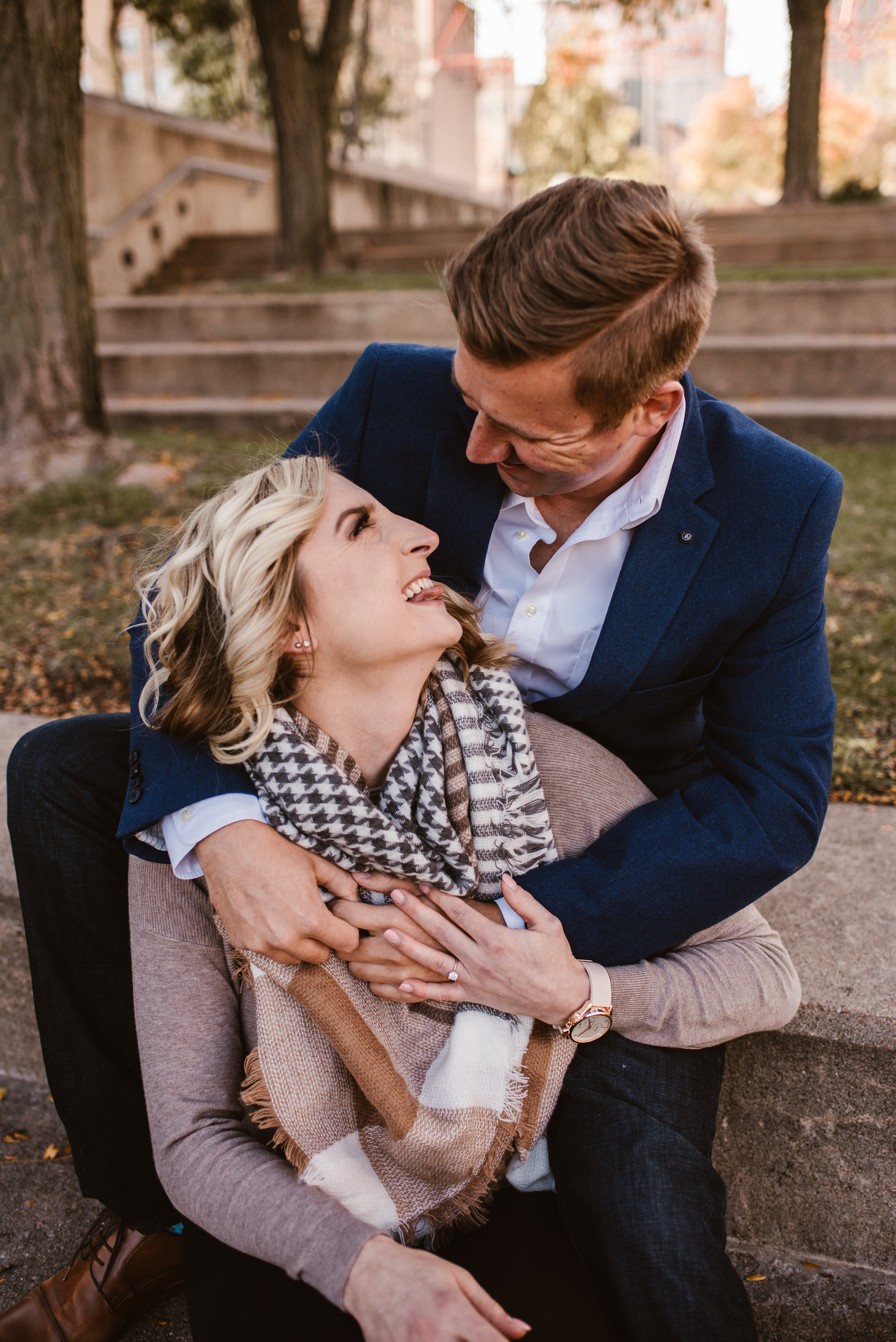Gene Leahy Mall Omaha Engagement Session Kaylie Sirek Photography 02.jpg