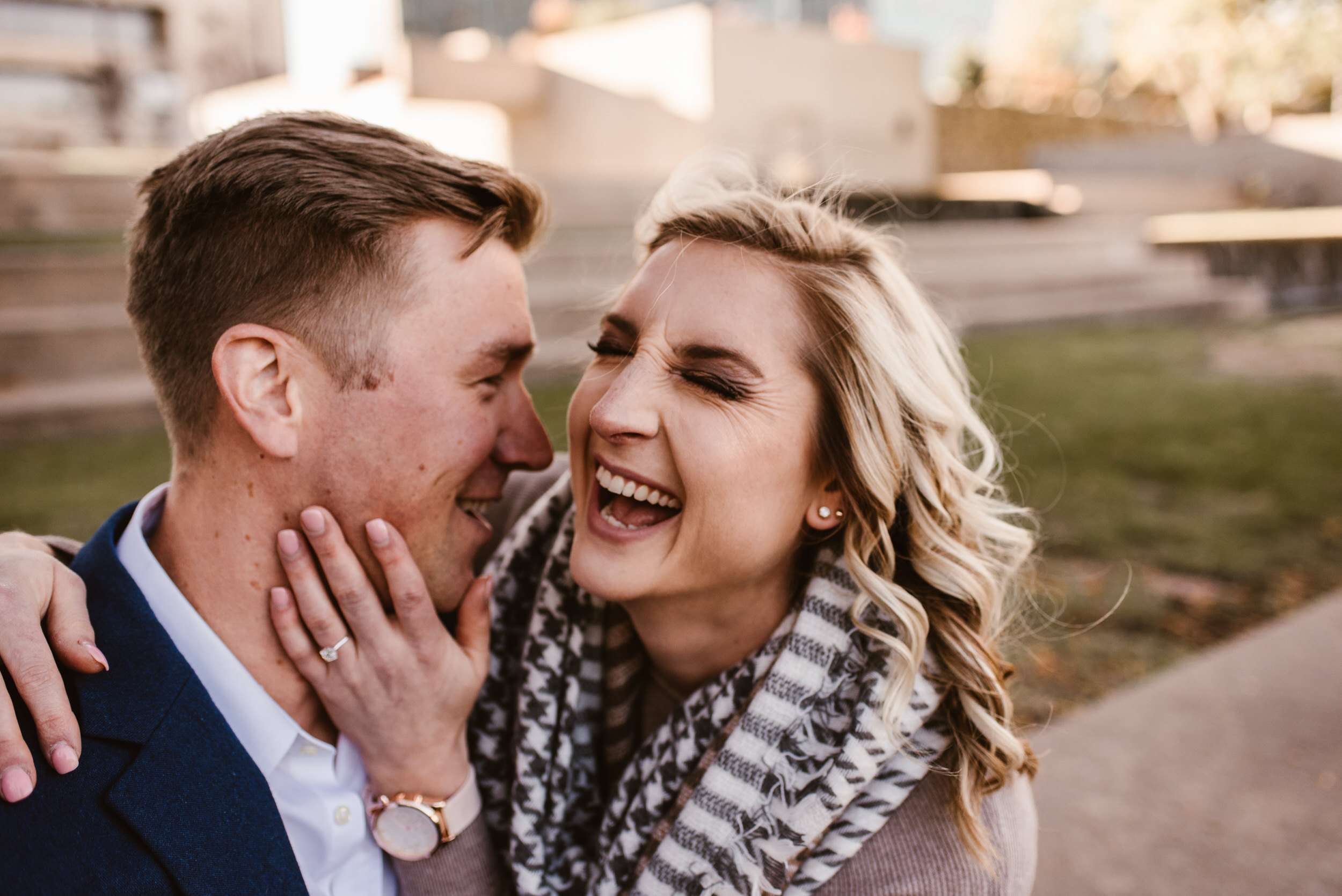 Gene Leahy Mall Omaha Engagement Session Kaylie Sirek Photography 04.jpg