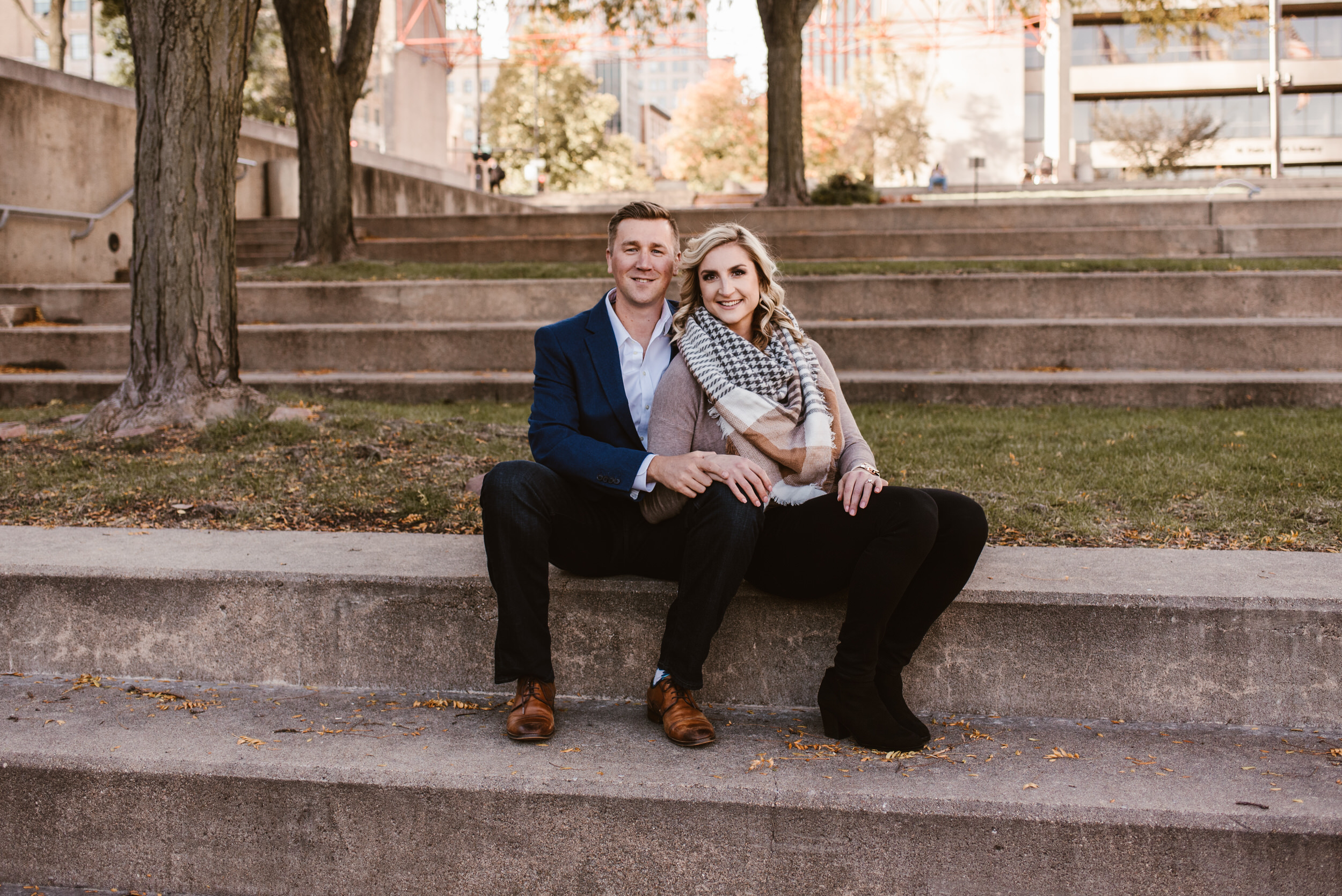 Gene Leahy Mall Omaha Engagement Session Kaylie Sirek Photography 03.jpg