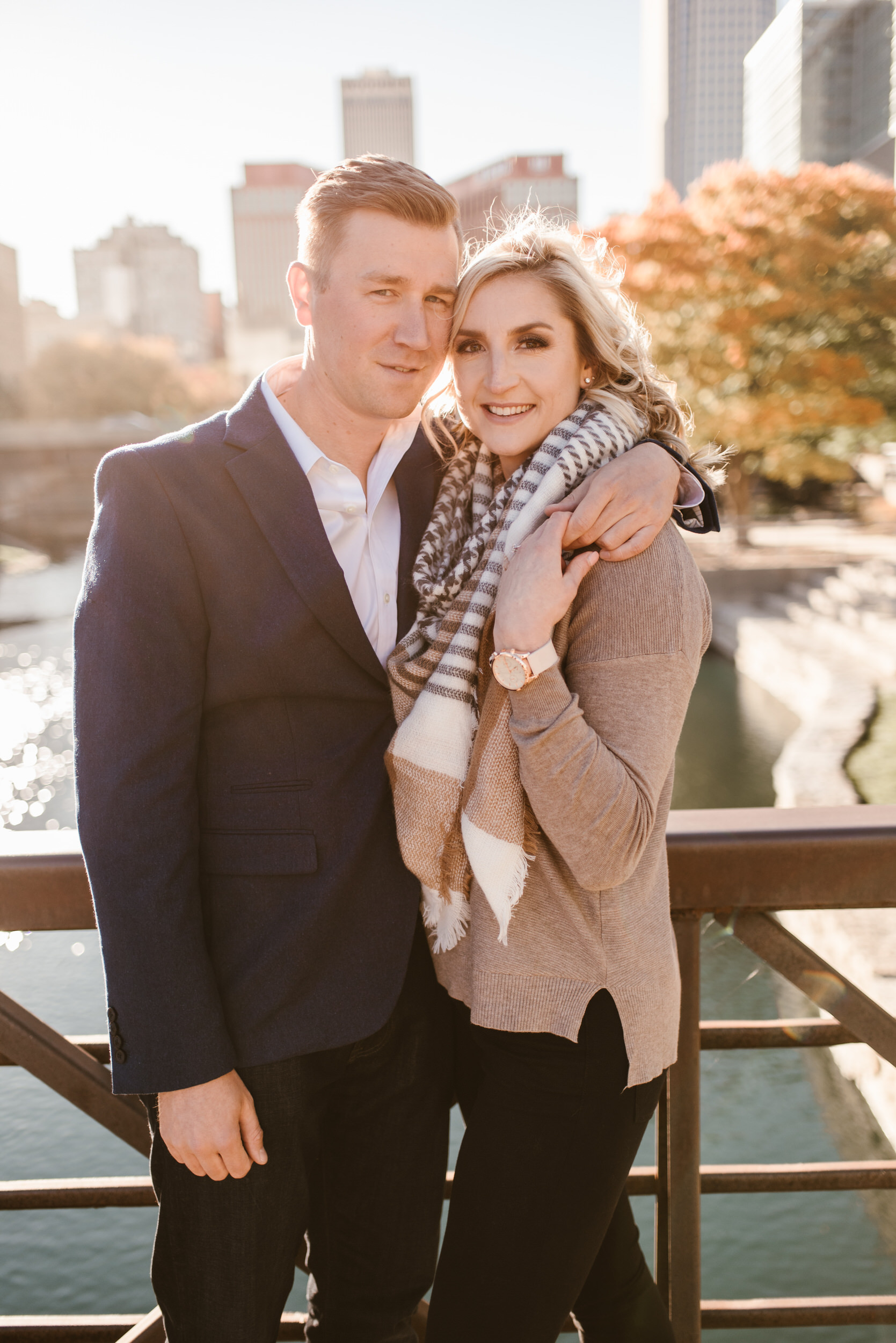 Gene Leahy Mall Omaha Engagement Session Kaylie Sirek Photography 05.jpg