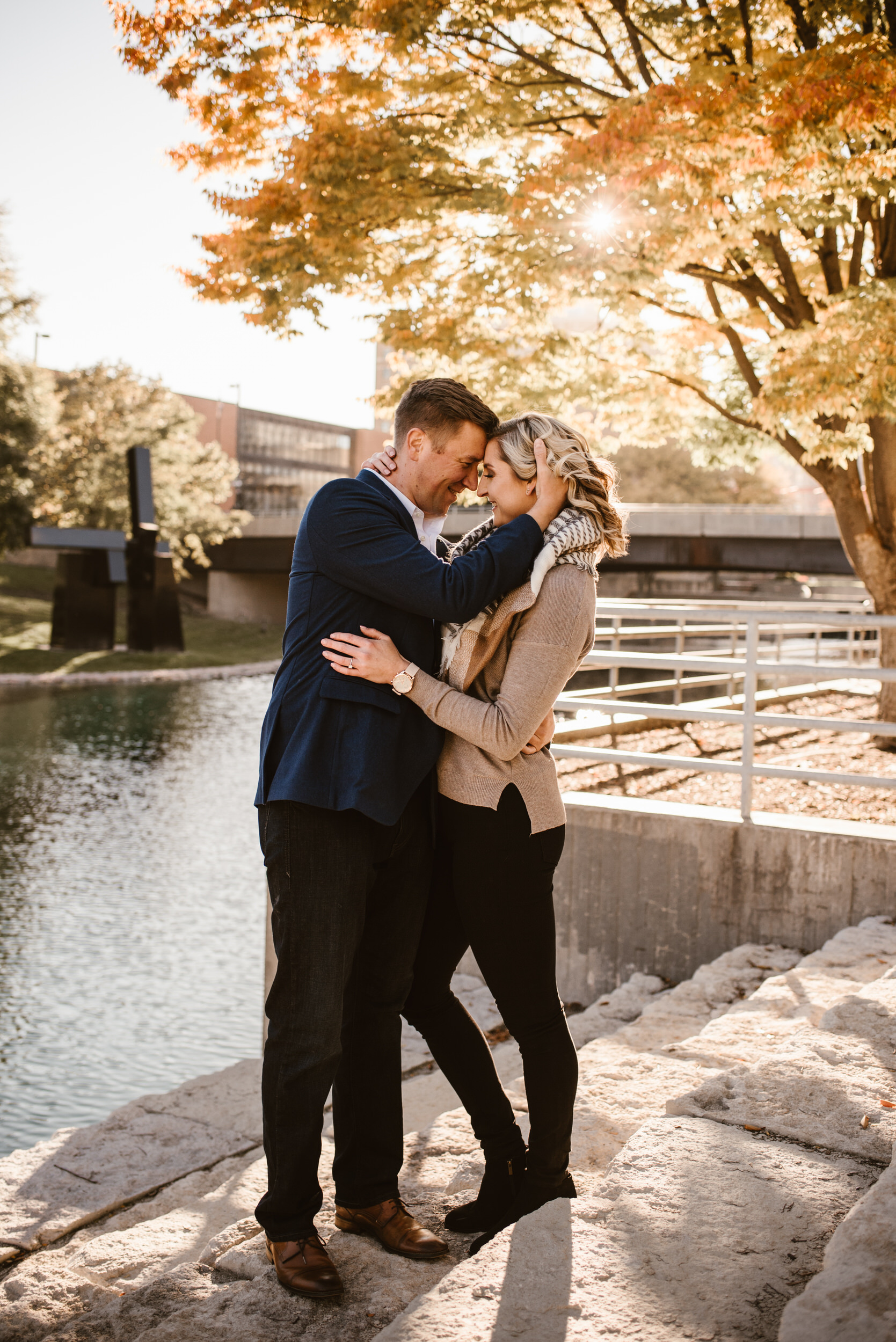 Gene Leahy Mall Omaha Engagement Session Kaylie Sirek Photography 07.jpg
