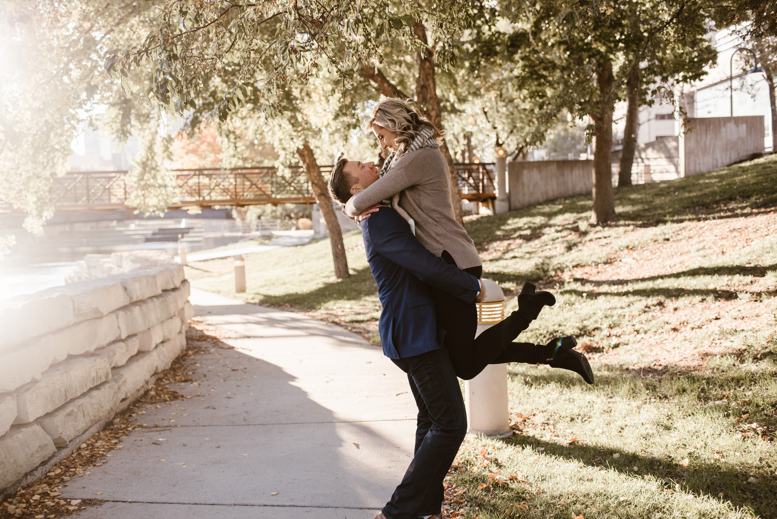 Gene Leahy Mall Omaha Engagement Session Kaylie Sirek Photography 10.jpg