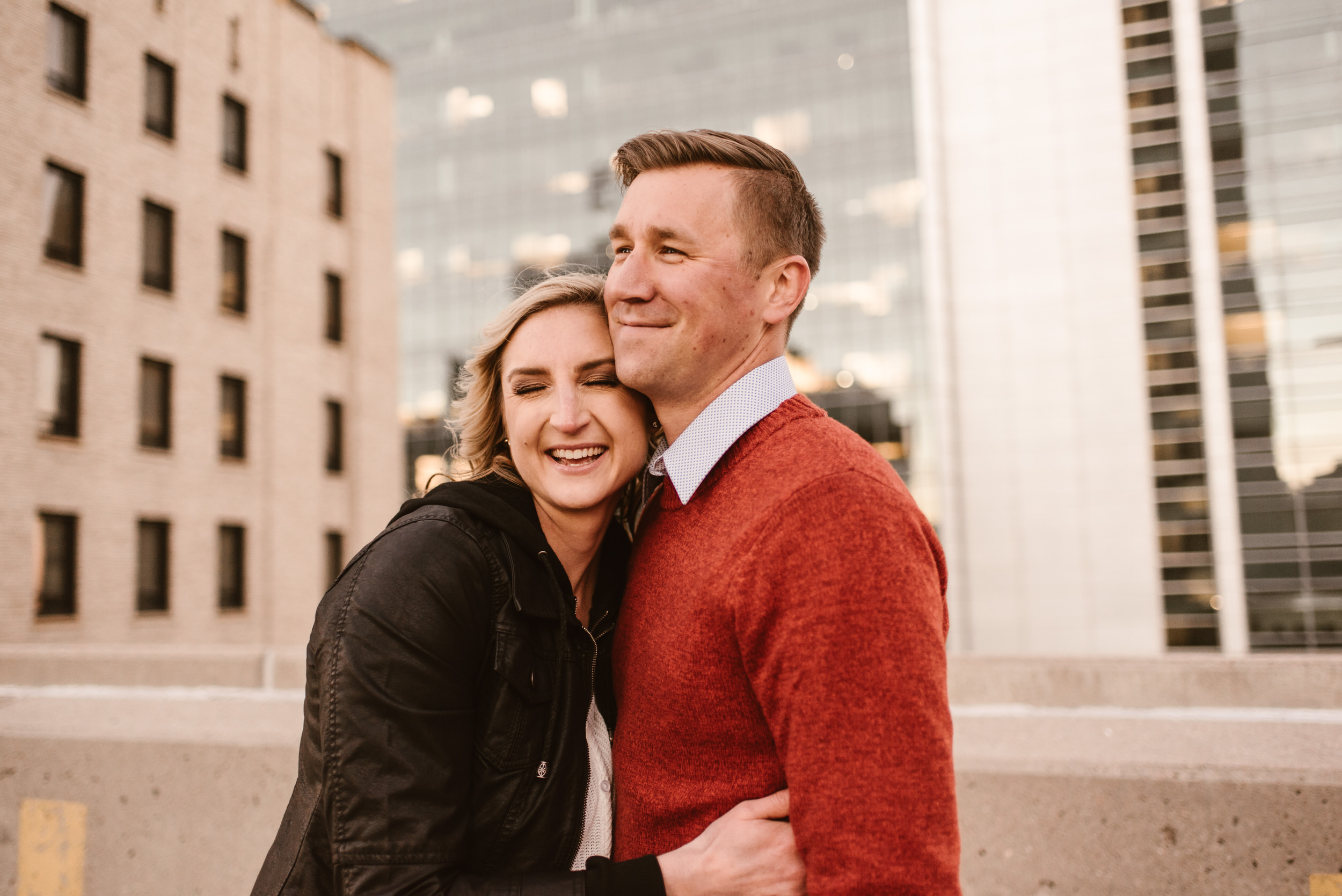 Gene Leahy Mall Omaha Engagement Session Kaylie Sirek Photography 31.jpg