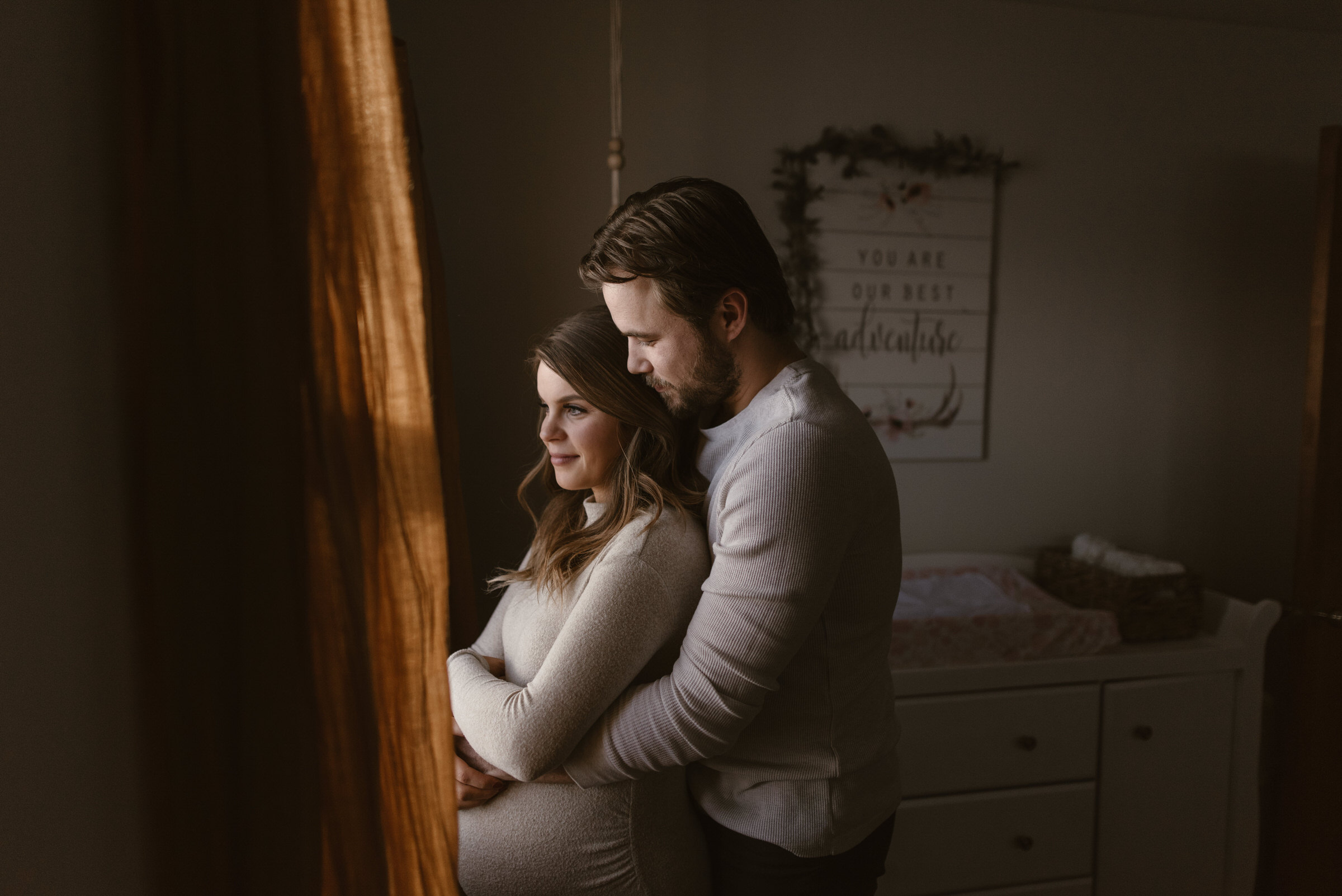 In Home Maternity Session Lincoln Nebraska Kaylie Sirek Photography 29.jpg