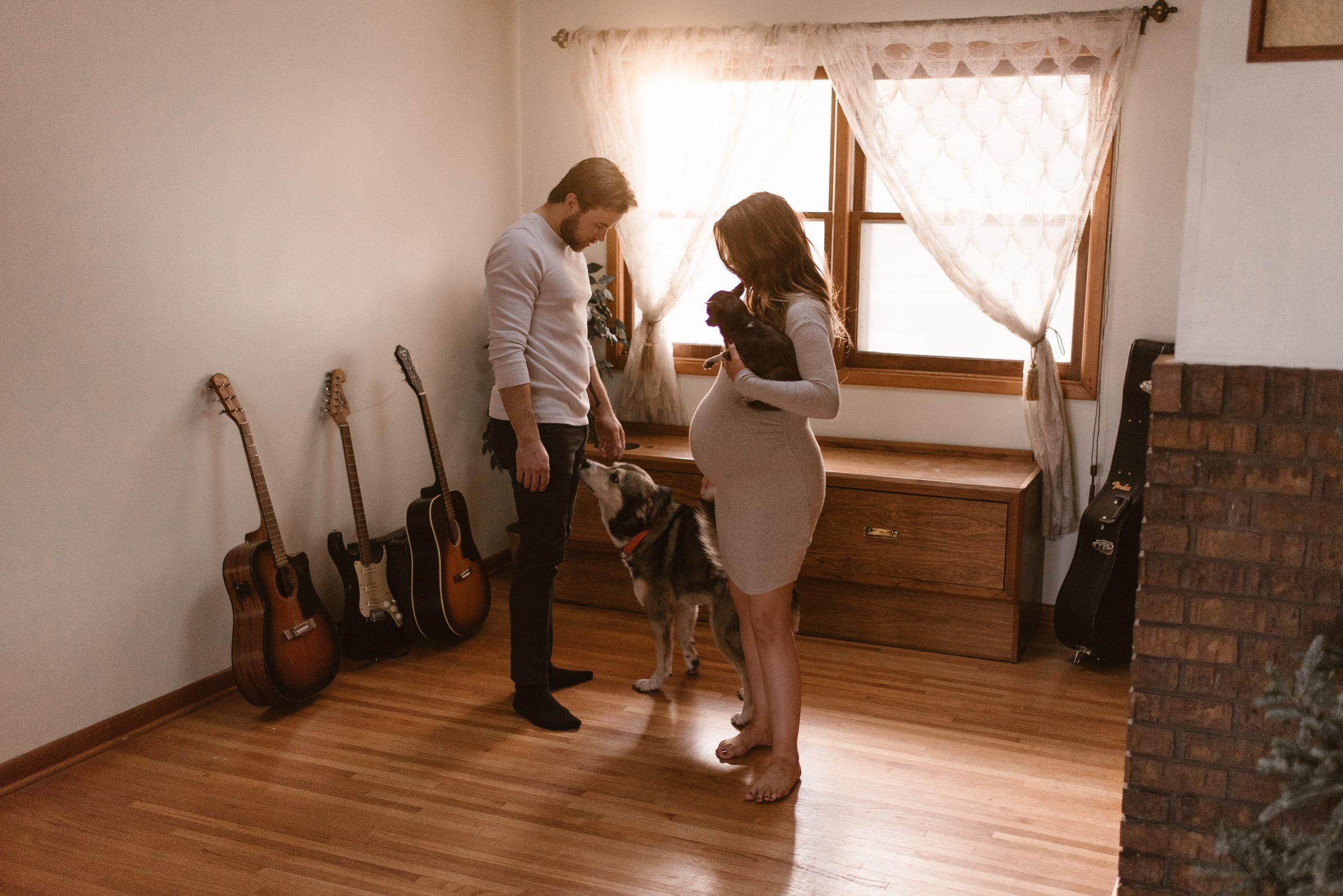 In Home Maternity Session Lincoln Nebraska Kaylie Sirek Photography 48.jpg