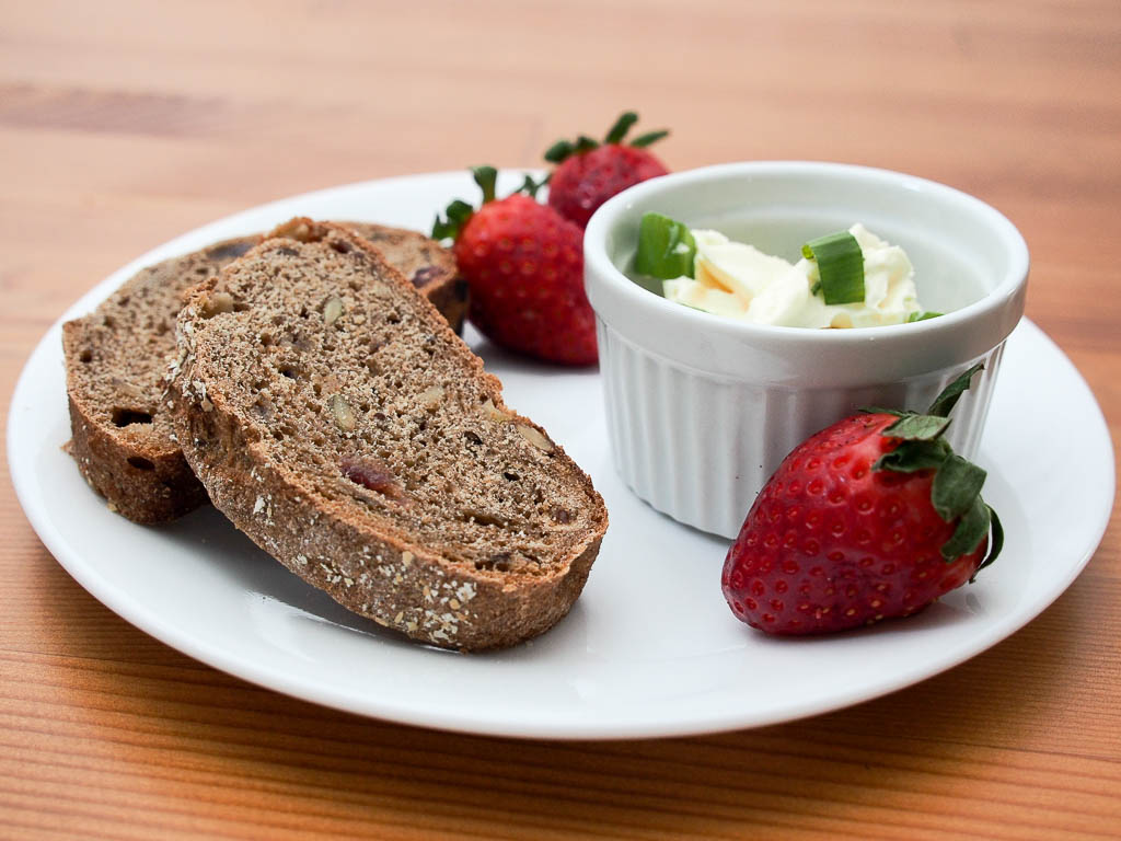 A few slices of our Organic Sprouted Muesli bread are a great way to keep you going in the afternoon!