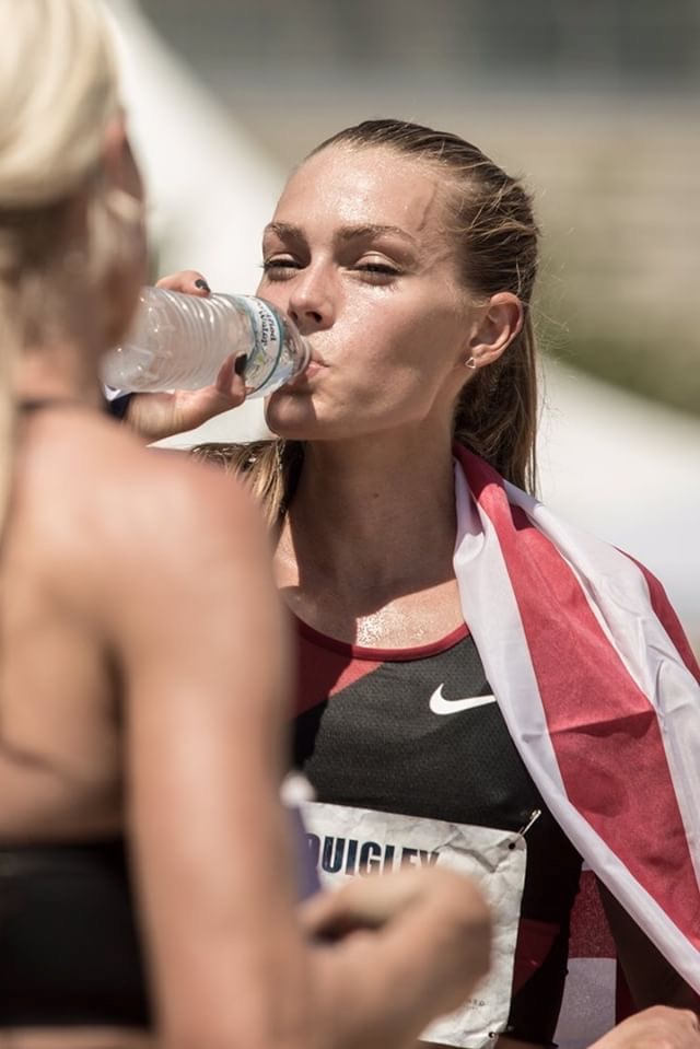 Sacramento (USA Champs) was HOT! Gotta hydrate like a boss (photo by David Bracetty)