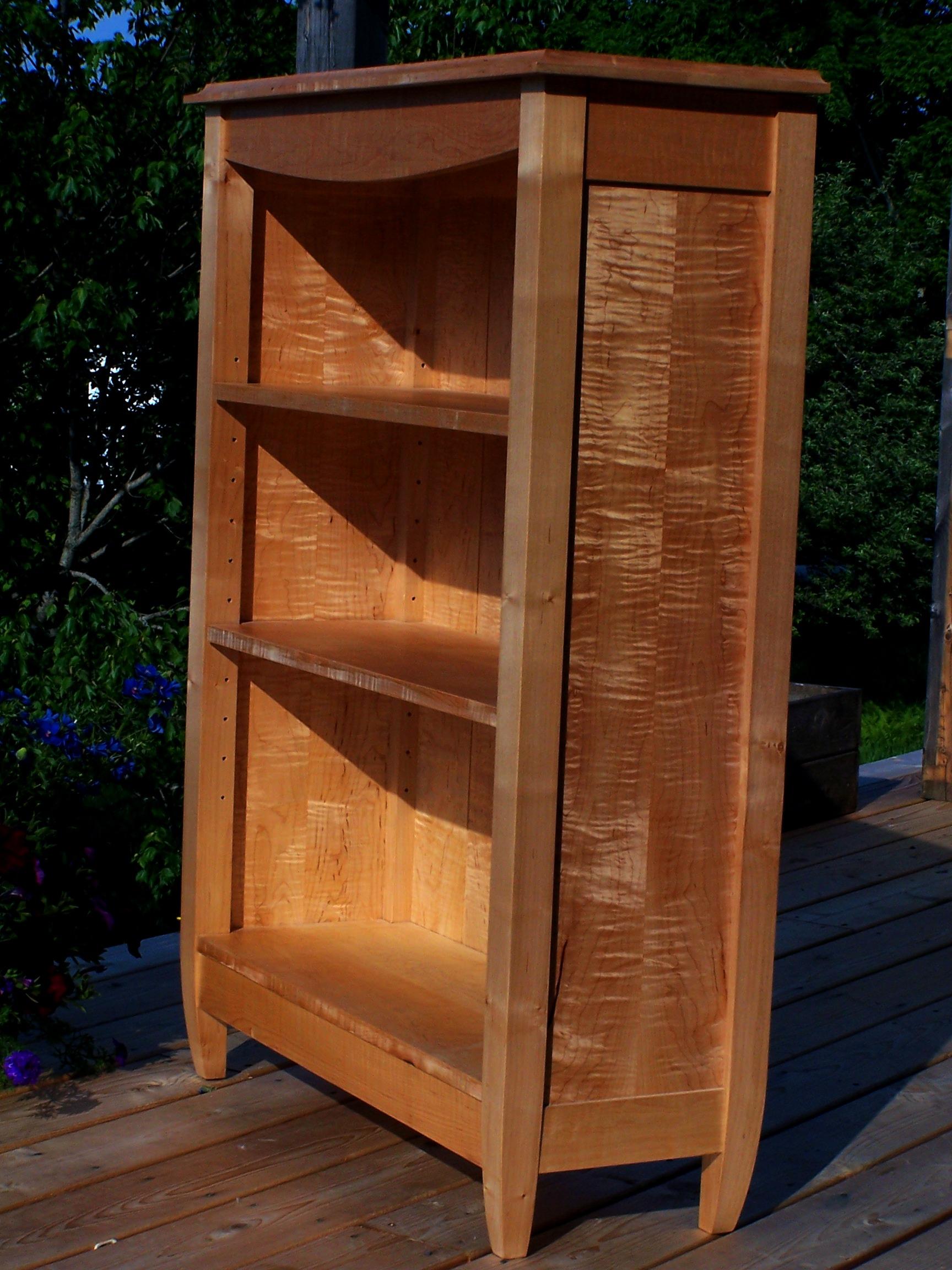 adjusted tiger maple bookcase1.JPG