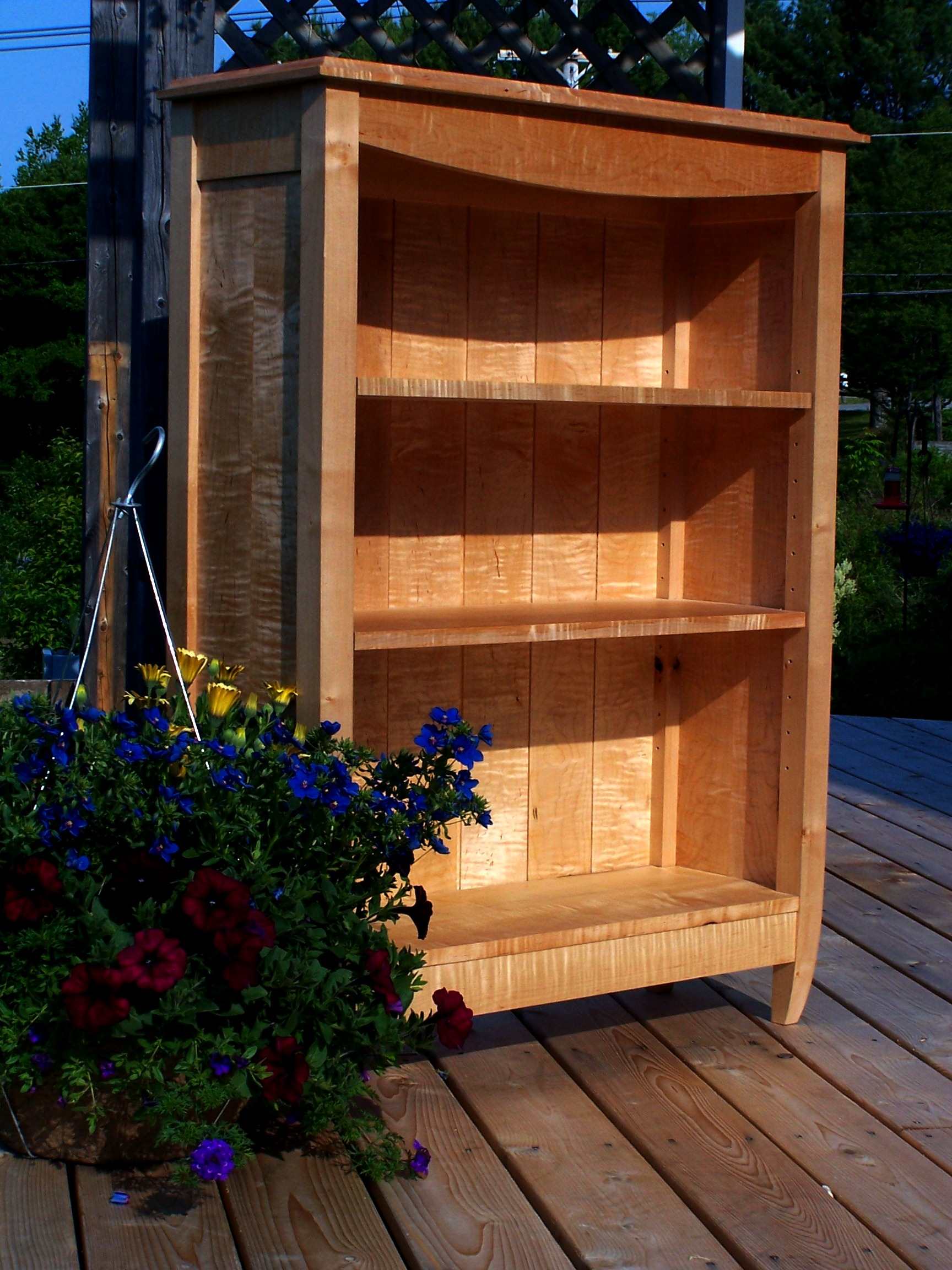adjusted tiger maple bookcase2.JPG