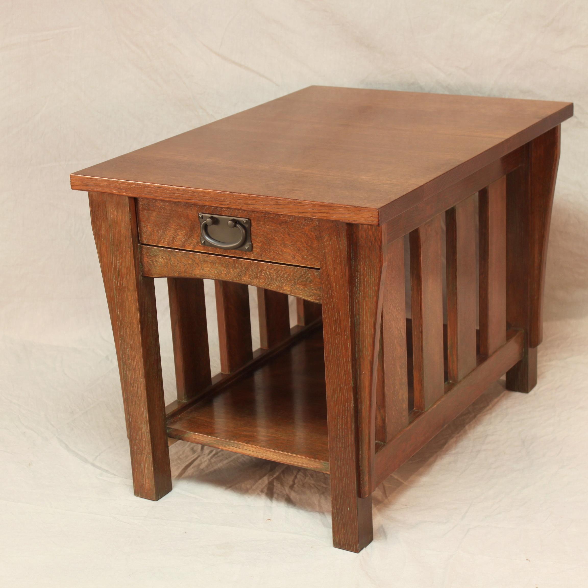 oak end table2.JPG