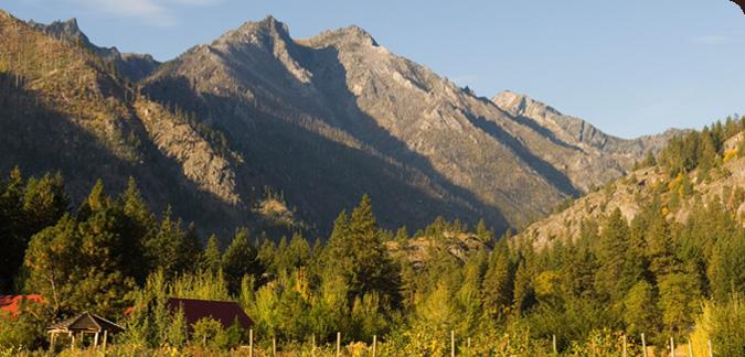 Sleeping Lady Ridge - Icicle Canyon - Leavenworth, Washington