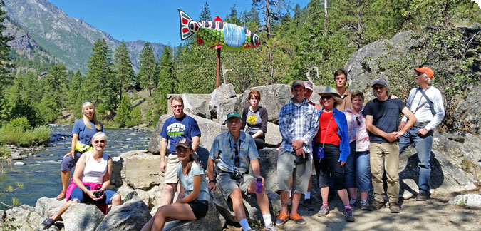 Great Group Getaway along the Icicle Creek